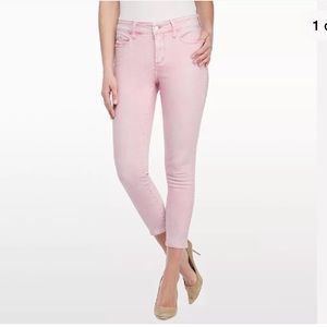NYDJ slimming Angie super skinny ankle jeans